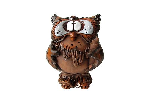 Ceramic Owl Money Bank