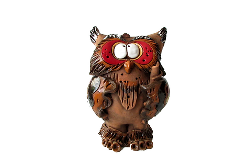 Ceramic Owl Money Bank