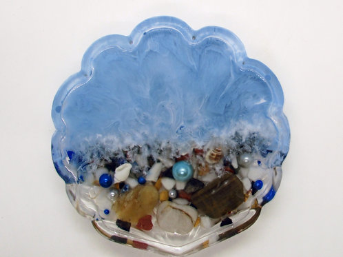 Resin Handcrafted Shell shape Stand