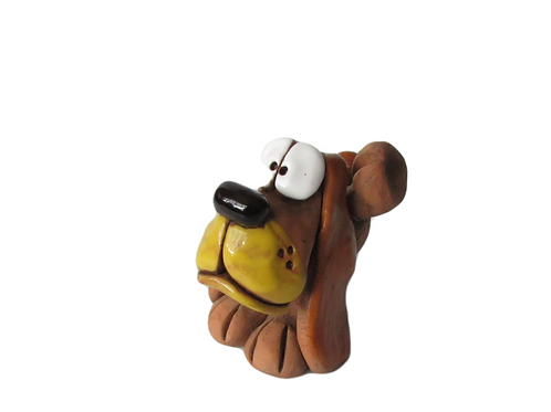 Ceramic Dog Figurine