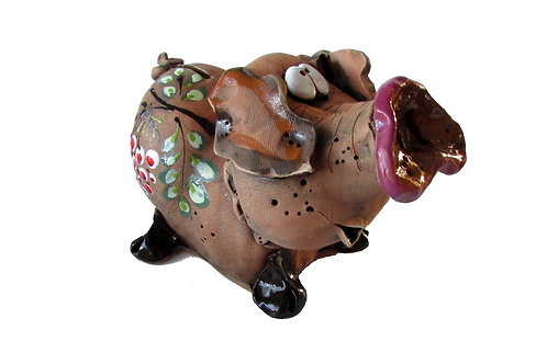 Ceramic Pig Money Bank