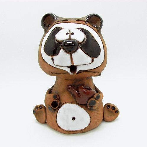Ceramic Panda Incense Cone Burner