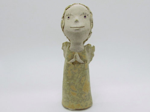 Ceramic Figurine Praying Angel