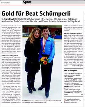 Nachwuchs Schweizermeisterschaft 2014