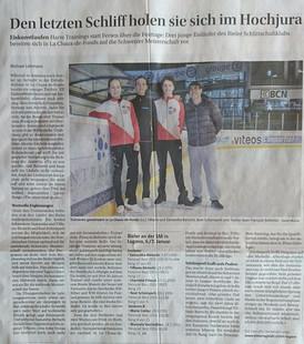 Vorbereitung Junioren Schweizermeisterschaft, Lugano