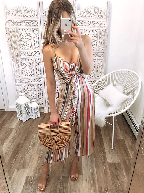 Love At First Stripe Jumpsuit