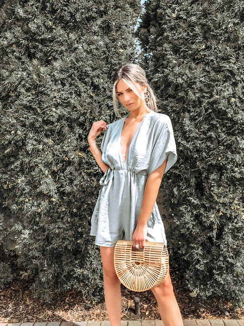 Side By Side Tie Romper
