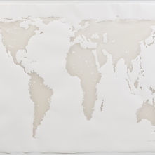 White Relief of continents