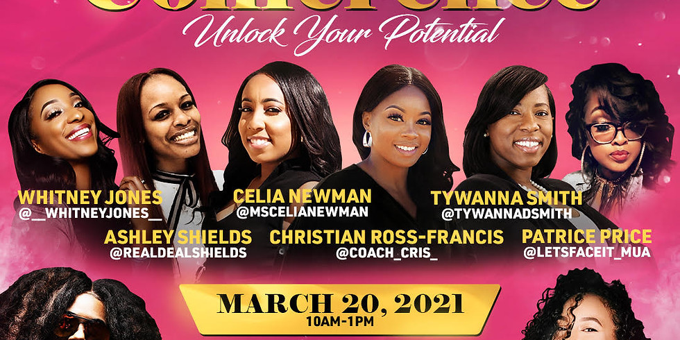 """Girl Boss Conference: """"Unlock Your Potential"""""""