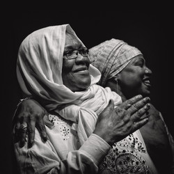 Hasna El Becharia et Naïny Diabaté