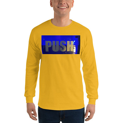 Push Men's Long Sleeve Shirt