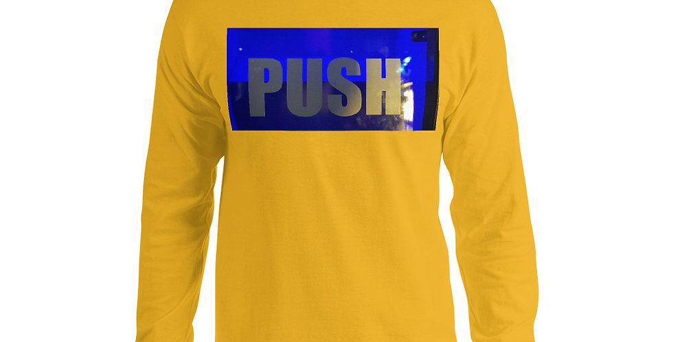 Push Men's Long Sleeve Shirt