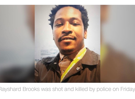 Autopsy report says Rayshard Brooks was shot twice in the back, lists manner of death as homicide