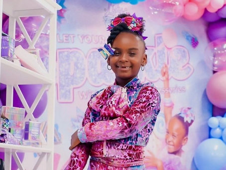 6-Year-Old Is The Youngest CEO Of A Black-Owned Business To Have A Distribution Deal With Walmart