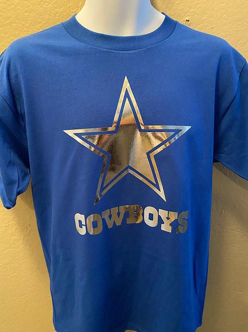Dallas Cowboys Tee Metallic