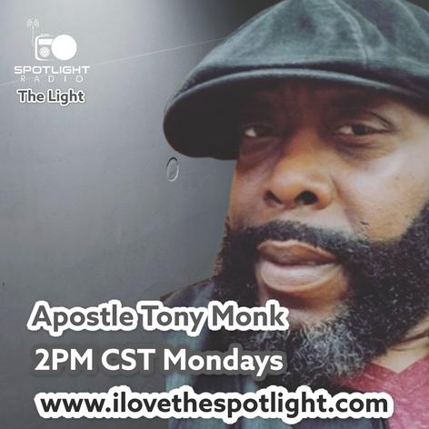 Apostle Tony Monk