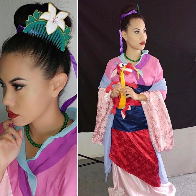 Mulan Party Character Los Angeles