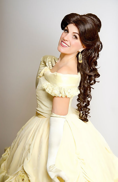Hire Princess Belle for your child's next birthday party!
