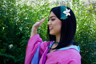 Mulan character for princess parties in Los Angeles