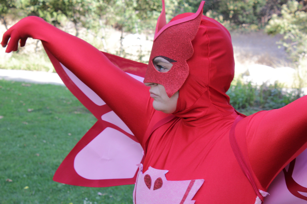 PJ Mask Owlette Characters for Parties in Los Angeles