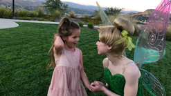 Tinkerbell Character for princess birthday  parties in Los Angeles