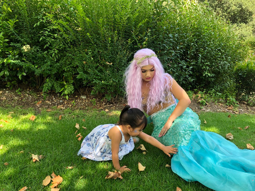 Mermaid Princess Party Character for Hire in Los Angeles