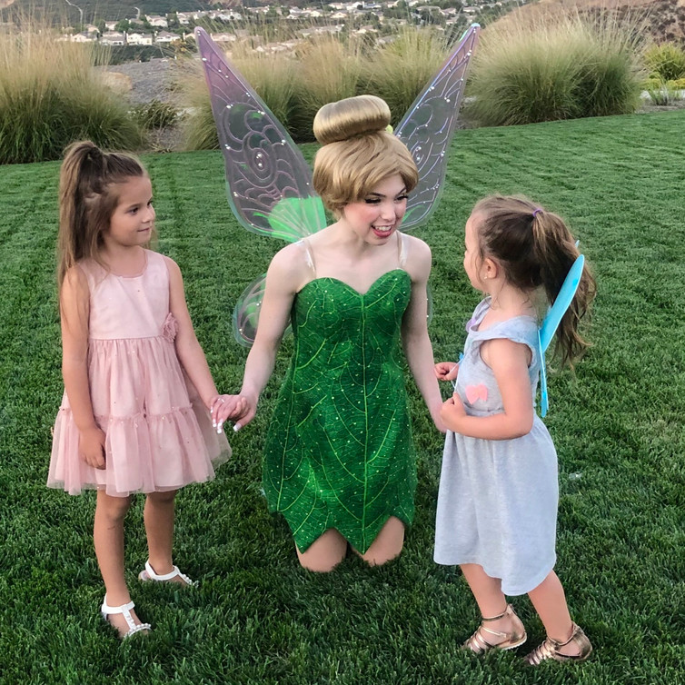 Tinkerbell Character for parties in Los Angeles