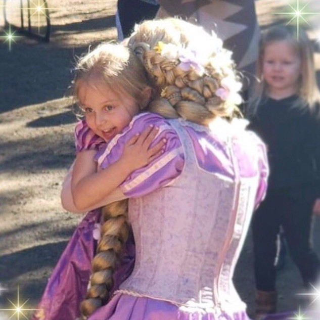Rapunzel Princess Character for Birthday Parties In Los Angeles