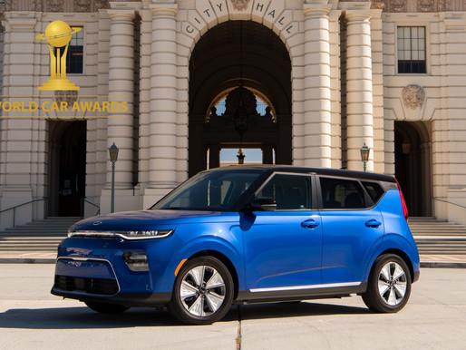 """KIA Soul EV has won """"World Urban Car 2020"""""""