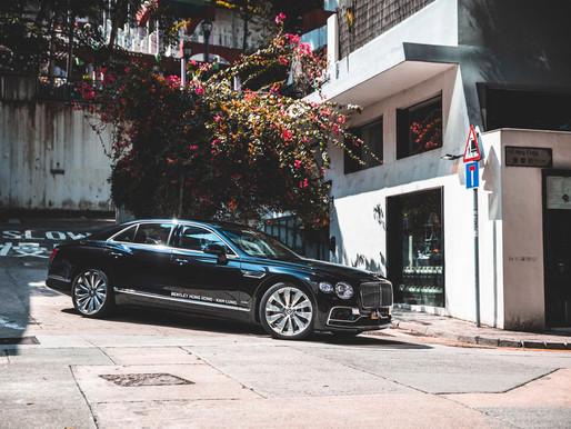 The new Flying Spur, Bentley's luxury four-door Grand Tourer