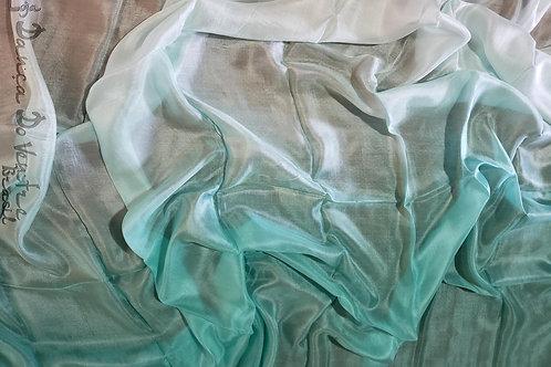 Véu de Seda - Importado - Verde água