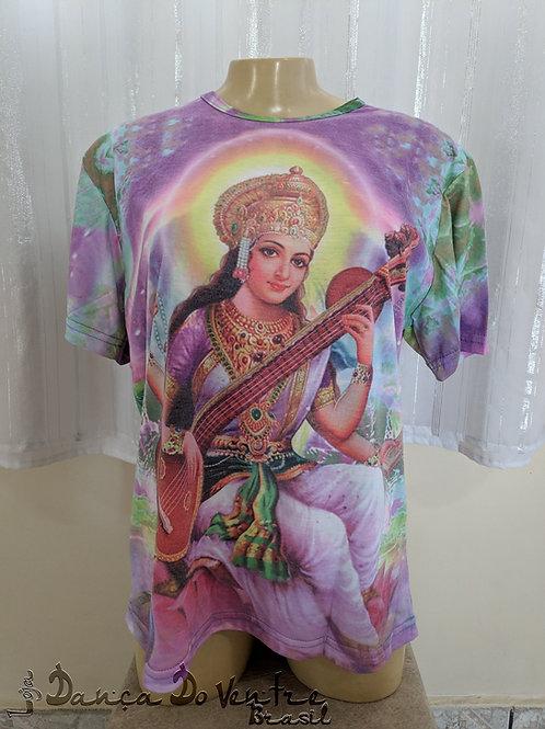camiseta Indiana - Saraswati - Unissex
