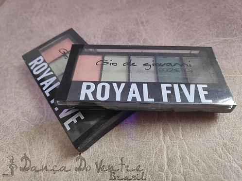 Kit de Sombras Royal Five - Espanha - Colorido