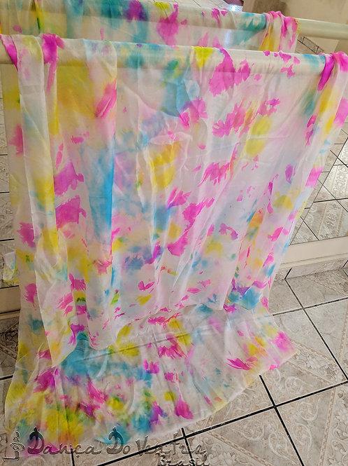 Véu de Seda - Importado - colorido mesclado
