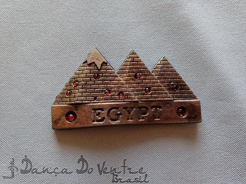Imã de geladeira Pirâmides - Importado Egito