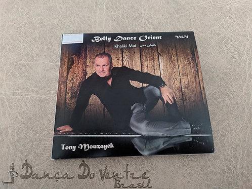 CD Tony Mouzayek Vol. 74