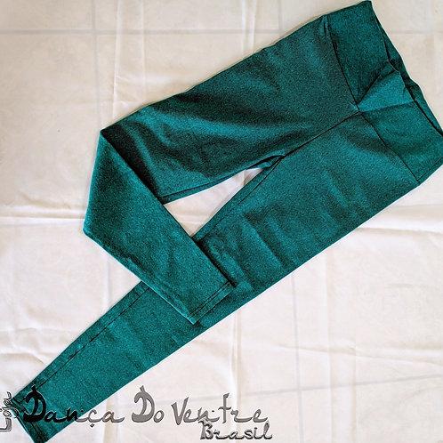 Calças Fitnes Algodão - Verde
