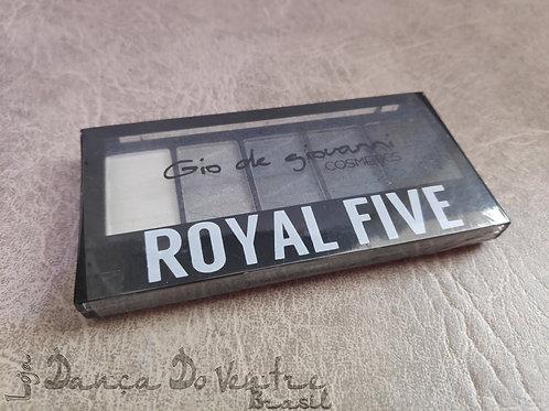 Kit de Sombras Royal Five - Espanha - Tons de Cinza