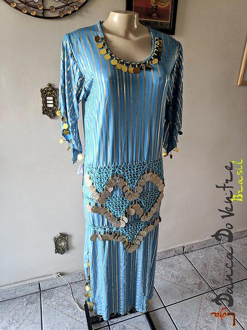 Vestido Egípcio folclórico Importado Egito