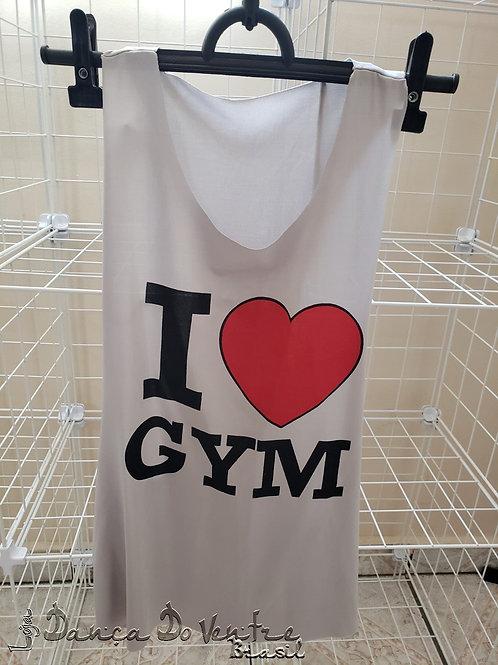 Regata Fitness - Cinza