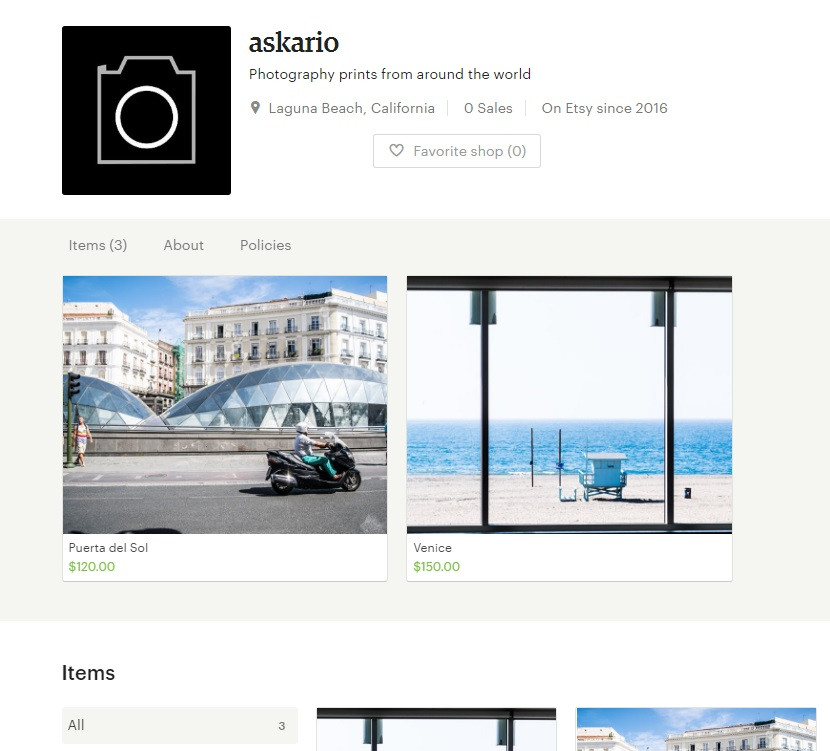askario etsy store, canvas prints and more on sale now