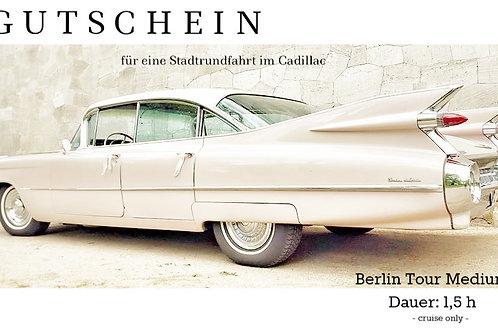 Gutschein Stadtrundfahrt 1h cruise only
