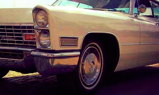 Berlin Cadillac Hochzeitsauto