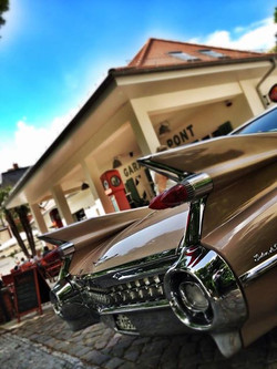 Cadillac in Potsdam