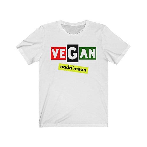 RBG Nadamean Vegan T Shirt, Vegan Gifts, Funny Shirt, Plant Based, Birthday Gift