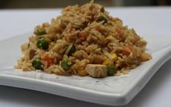 Veggie Brown Rice & Tofu