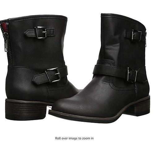 Wild Pair Women's Othello Engineer Boot - Black