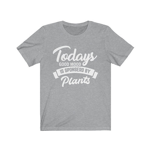 Todays Good Mood Vegan T Shirt, Vegan Gifts, Funny Shirt, Plant Based
