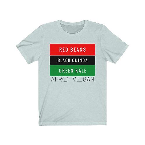 RBG Afro Vegan T Shirt, Vegan Gifts, Funny Shirt, Plant Based, Birthday Gift