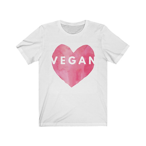 Big Heart Vegan T Shirt, Vegan Gifts, Funny Shirt, Plant Based, Birthday Gift